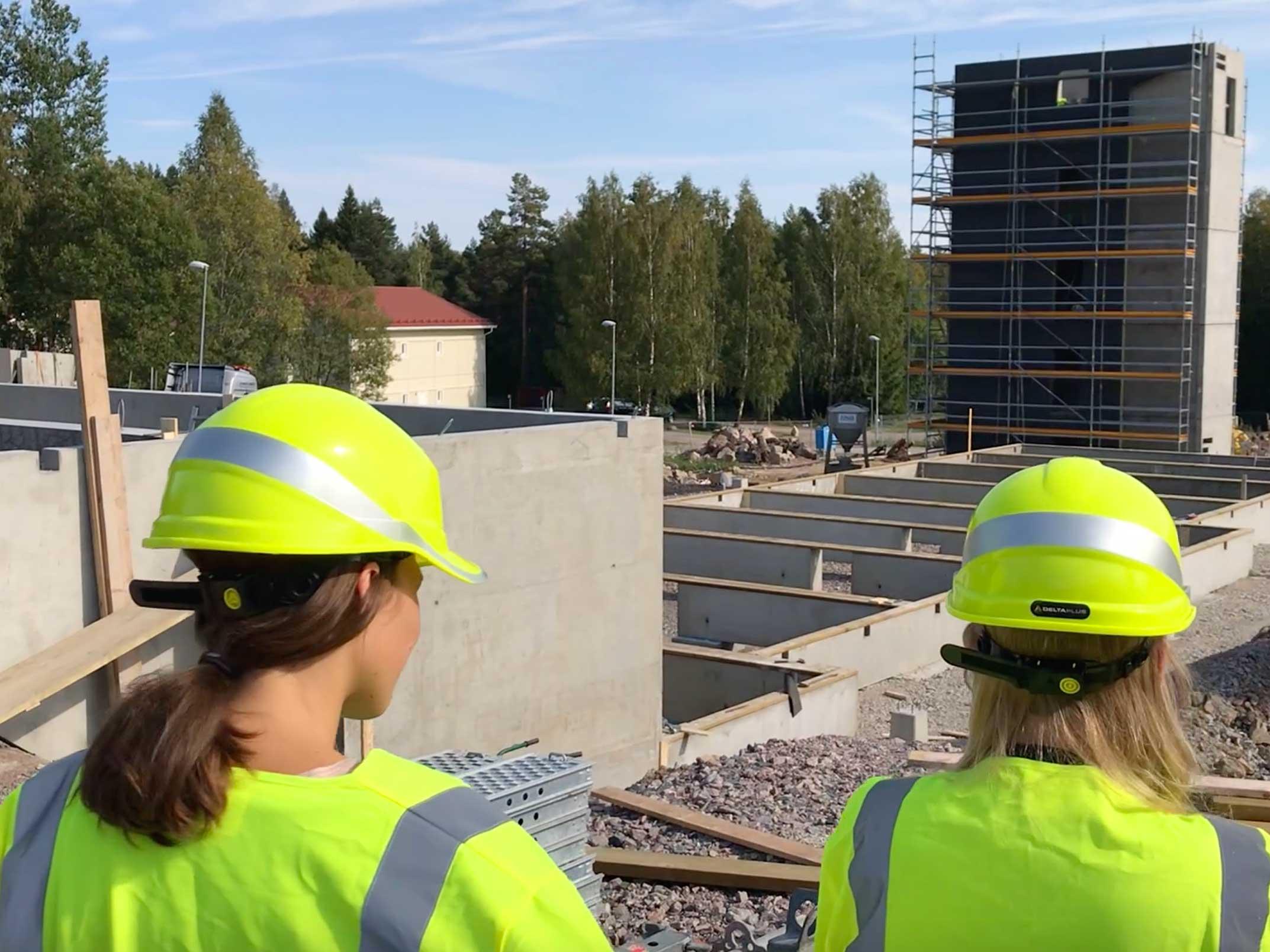 Fler Tjejer I Byggbranschen