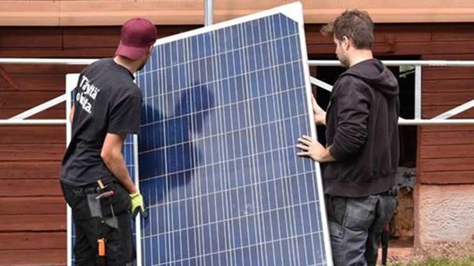 Installation Solceller