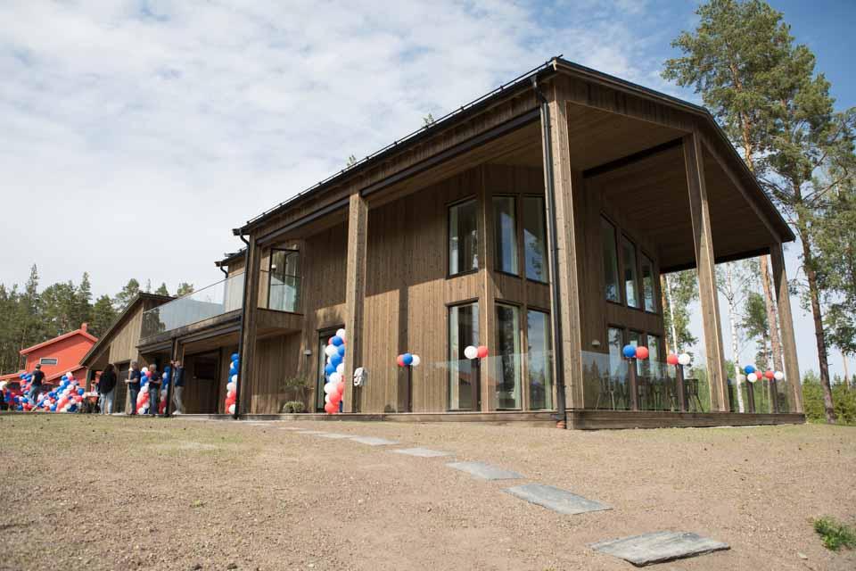 Invigning Dalarnas Villa