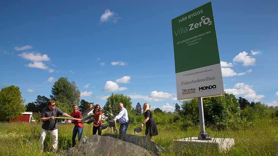 Villazero - Första Spadtaget